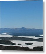 Lake Winnipesaukee View From Mt. Major Metal Print by Michael Mooney