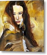 Lament Metal Print by J W Baker