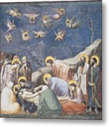 Lamentation Metal Print by Giotto Di Bondone