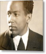 Langston Hughes Metal Print by Everett