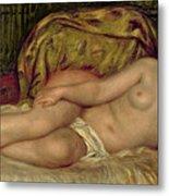 Large Nude Metal Print by Pierre Auguste Renoir