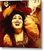 Laughing Gypsy Metal Print by Deborah MacQuarrie