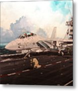 Launch The Alert 5 Metal Print by Marc Stewart
