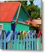 Laundry Day Metal Print by Debbi Granruth