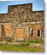 Lauratown Arkansas A Ghost Of The Past Metal Print by Douglas Barnett