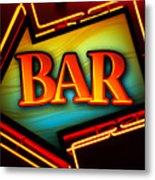 Laurettes Bar Metal Print by Barbara Teller