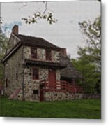 Layfayette's Headquarters At Brandywine Metal Print by Gordon Beck