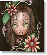 Lazy Eye Metal Print by  Abril Andrade Griffith