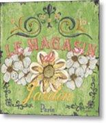 Le Magasin De Jardin Metal Print by Debbie DeWitt
