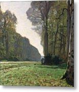 Le Pave De Chailly Metal Print by Claude Monet