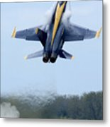 Lead Solo Pilot Of The Blue Angels Metal Print by Stocktrek Images