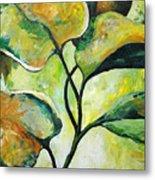 Leaves2 Metal Print by Chris Steinken