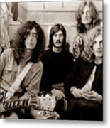 Led Zeppelin 1969 Metal Print by Chris Walter