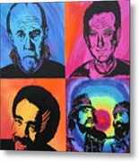 Legends Of Laughter Metal Print by Bill Manson