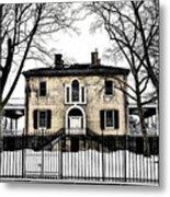 Lemon Hill Mansion - Philadelphia Metal Print by Bill Cannon