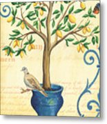 Lemon Tree Of Life Metal Print by Debbie DeWitt
