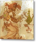 Lemongrass Metal Print by Brian Kesinger