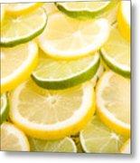 Lemons And Limes Metal Print by James BO  Insogna