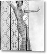 Lena Horne. Ca. 1950s. Courtesy Csu Metal Print by Everett