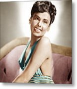 Lena Horne, Mgm Portrait, Ca. 1940s Metal Print by Everett