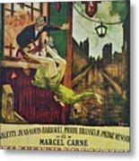 Les Enfants Du Paradis Metal Print by Georgia Fowler