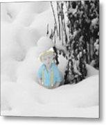 Let It Snow Metal Print by Al Bourassa