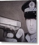 Lethal Force Metal Print by Brendan SMITH