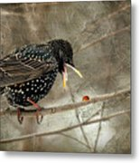 Let's Do Lunch Metal Print by Lois Bryan