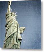 Liberty Enlightening The World Metal Print by Charles Dobbs
