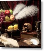 Life And Death In Still Life Metal Print by Tom Mc Nemar