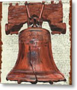 Life And Liberty Metal Print by Debbie DeWitt