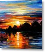 Life Memories Metal Print by Leonid Afremov