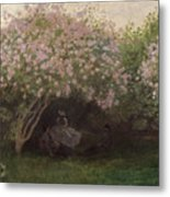 Lilacs Metal Print by Claude Monet