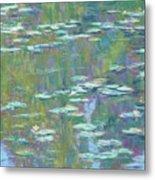 Lily Pond 2 Metal Print by Michael Camp