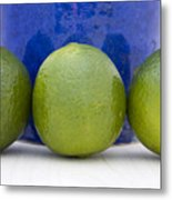 Lime Metal Print by Frank Tschakert