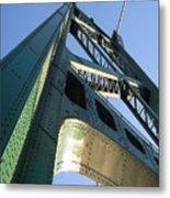 Lions Gate Bridge  Metal Print by Joseph G Holland