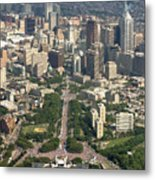 Live 8 Concert Philadelphia Ben Franklin Parkway 2 Metal Print by Duncan Pearson