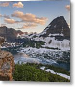 Living On The Edge Metal Print by Joseph Rossbach