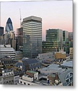 London Panorama From The Monument Metal Print by Romeo Reidl