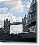 London Tower Bridge Metal Print by Dawn OConnor