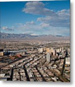 Looking Over Downtown Metal Print by Andy Smy