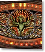 Looking Up From The Applause Metal Print by Joan  Minchak