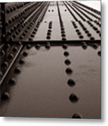 Looking Up Or Looking Down Metal Print by Joseph G Holland