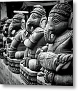 Lord Ganesha Metal Print by Abhishek Singh & illuminati visuals