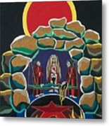 Lost Souls Outside The Spiritual Blood Of The Covenant Metal Print by Deidre Firestone