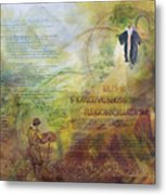 Love Forgiveness Reconciliation Metal Print by Judy Dodds