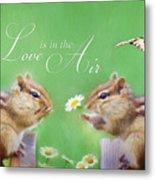 Love Is In The Air Metal Print by Lori Deiter
