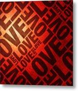 Love Letters Metal Print by Michael Tompsett