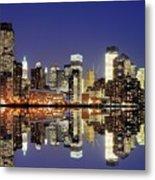 Lower Manhattan Skyline Metal Print by Sean Pavone