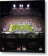 Lsu Aerial View Of Tiger Stadium Metal Print by Louisiana State University
